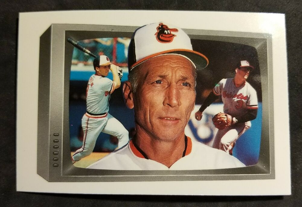 Cal Ripken Jr Baltimore Orioles 1989 Bowman Tiffany Family Baseball Card Ebay