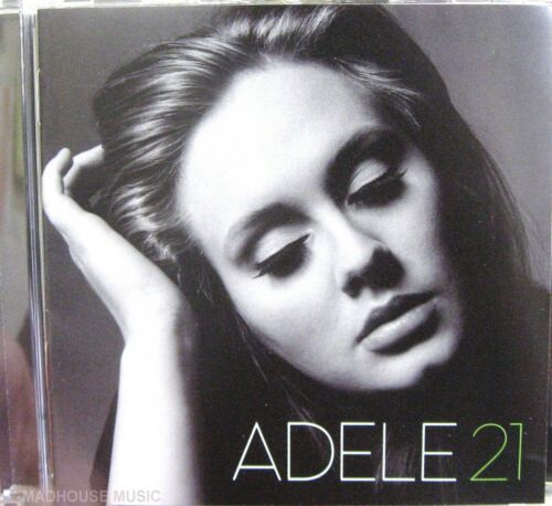 ADELE CD 21 Album Brand NEW Rolling In The Deep Someone Like You Turning Tables