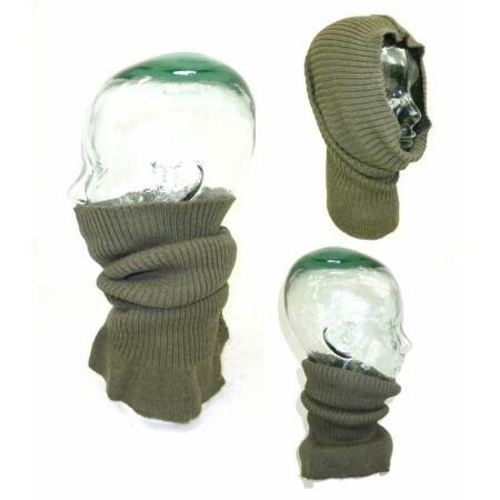img-NEW French Army NATO Cold Weather Snood Neck Warmer Wool Headover Motorbike K4