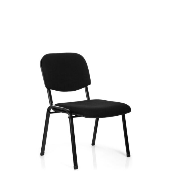 Conference Chair Visitor Chair Wide Seat Stackable Black Meeting Stool XT 600 XL