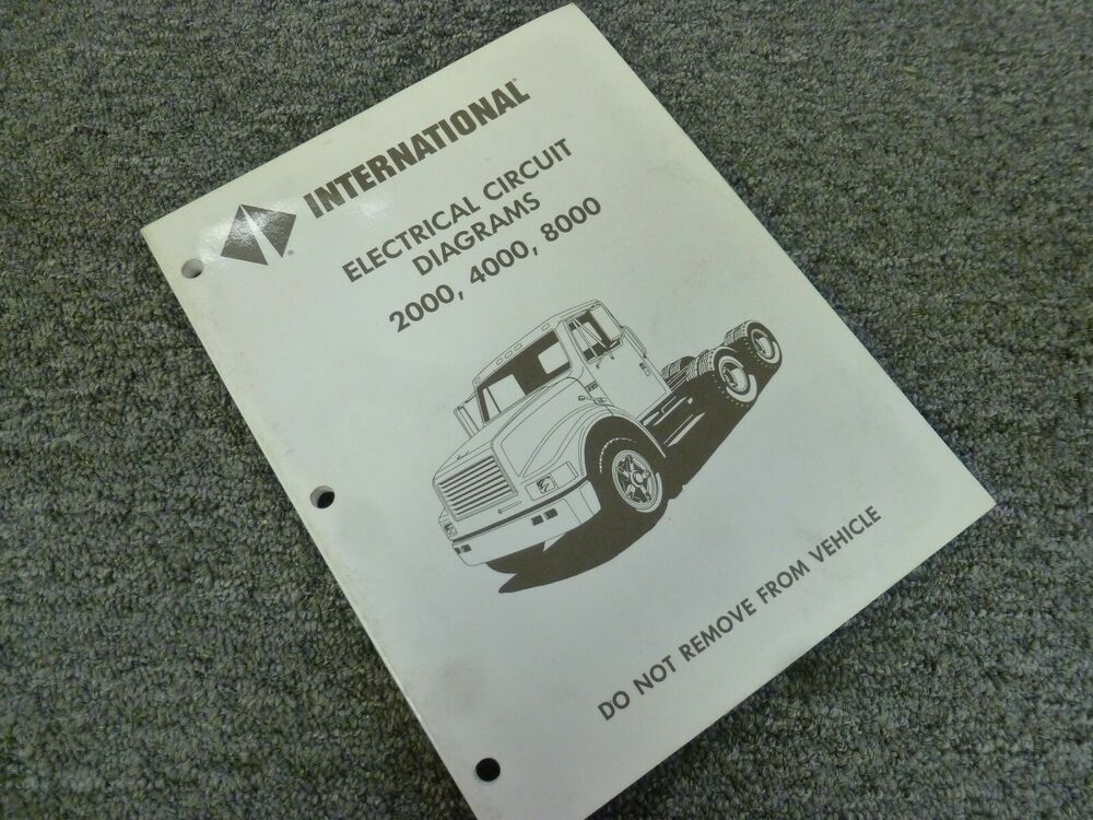 1994 International 4600 4700 4800 4900 Truck Electrical