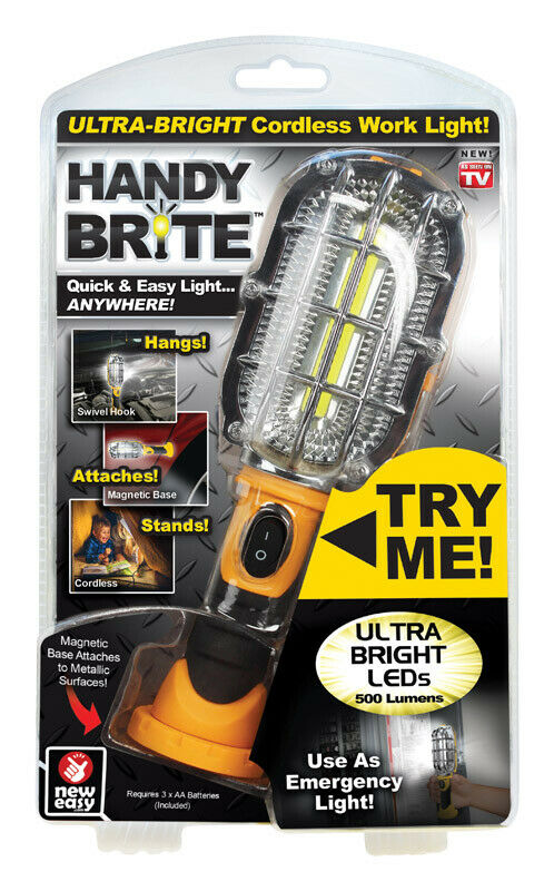 Handy Bright As Seen On Tv Led Cordless Work Light