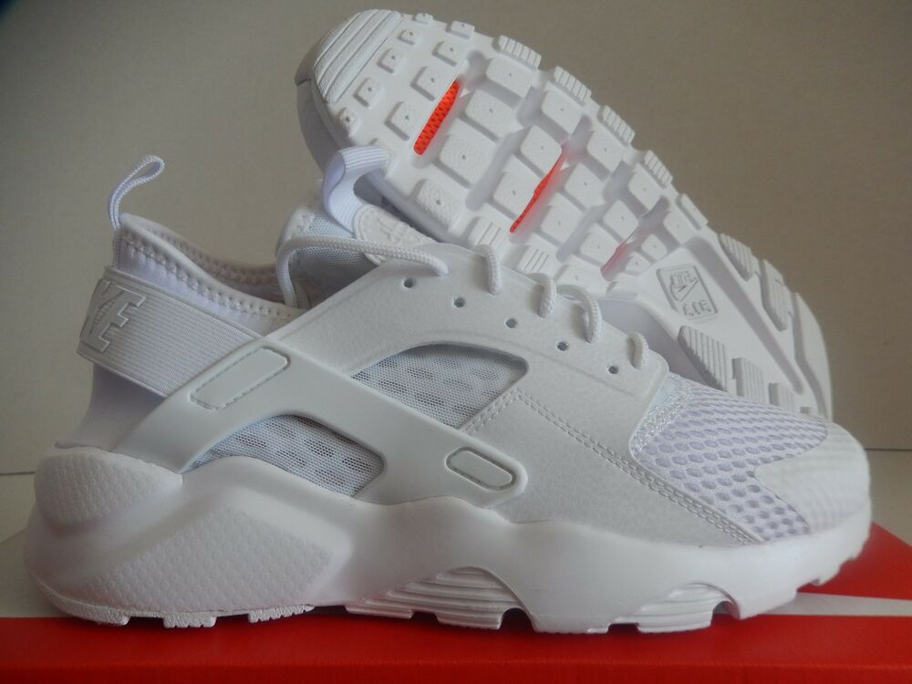 big sale 93190 15db9 Details about NIKE AIR HUARACHE RUN ULTRA BR BREATHE WHITE-WHITE SZ 8.5   833147-100