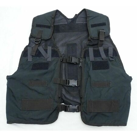 img-Black Remploy Frontline Hydration Tactical Vest MK2 Bladder & Pouch Not Included
