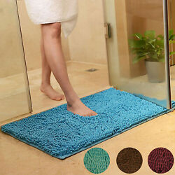 Kyпить Absorbent Soft Shaggy Non Slip Bath Mat Bathroom Shower Home Floor Rugs Carpet на еВаy.соm