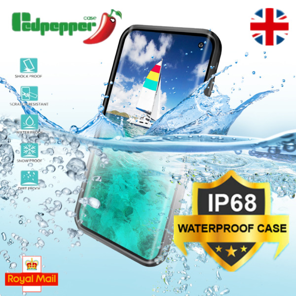 For Samsung Galaxy S8 S9 Plus S10e IP68 Waterproof 360° Protective Case Cover