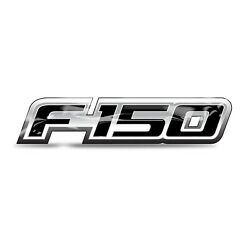 Ford F-150 2008 to 2014 4'' Full-Color Flexible 3D Clear Dome Decal