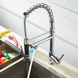 Kyпить Kitchen Sink Faucet With Pull Down Sprayer Chrome Single Handle Pull Out Mixer на еВаy.соm