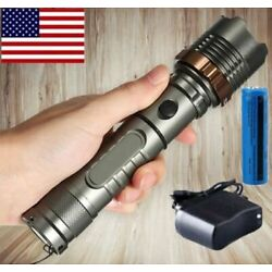 Kyпить Rechargeable 900000LM Camping LED Flashlight T6 Tactical Police Torch+Batt+Char на еВаy.соm