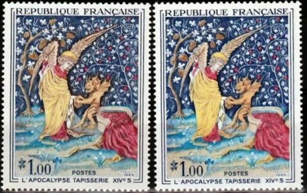 FRANCE STAMP TIMBRE 1458