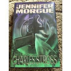 The Jennifer Morgue: A Laundry Files novel by Charles Stross (2006 Hardcover) OP