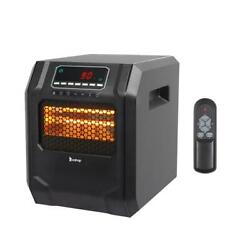 Kyпить Portable Electric Infrared Space Heater 1500W 12H Timer Remote Control Indoor на еВаy.соm