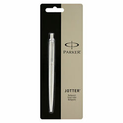 Kyпить Parker Jotter Stainless Steel Ballpoint Pen, Medium Point with Black Ink на еВаy.соm