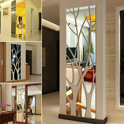Kyпить 3D Mirror Tree Art Removable Wall Sticker Acrylic Mural Decal Home Room Decor на еВаy.соm