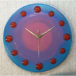 Kyпить Artisan Hand Crafted Clocks (Purple Haze 30cm)  на еВаy.соm