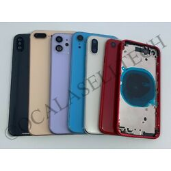 Kyпить Replacement Back Glass Housing Battery Cover Frame Assembly Fits iPhone 8 Plus на еВаy.соm