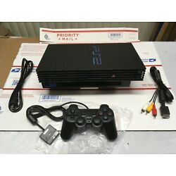Kyпить SONY PS2 Console Playstation 2 Complete Video Game System Ready to Play *VGC* на еВаy.соm