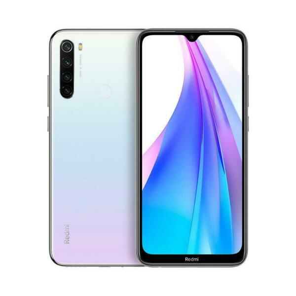 Smartphone Xiaomi Redmi Note 8T 4 + 64GB Bianco/White Versione Global Banda 20