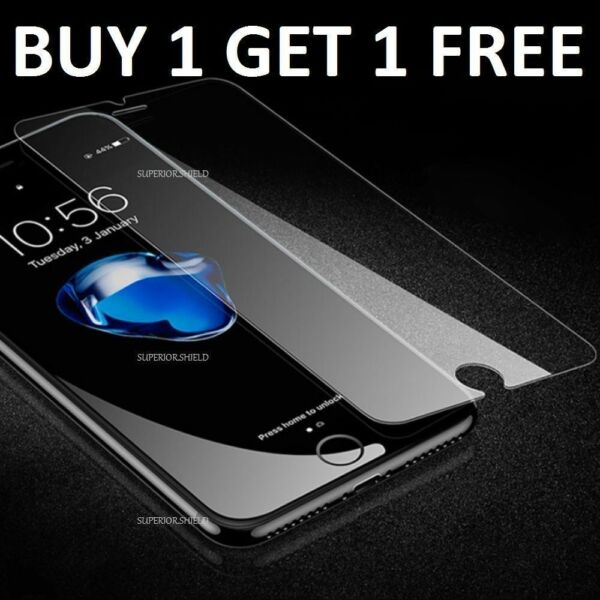 Tempered Glass Screen Protector For iPhone 7 - CRYSTAL CLEAR