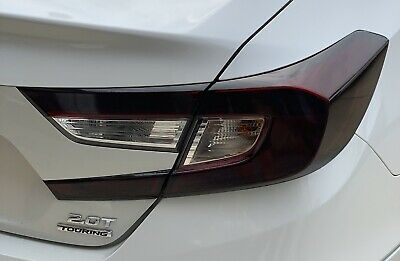 FOR 2018 2019 2020 ACCORD SMOKE Tail Light PreCut Vinyl Tint Overlays Smoked