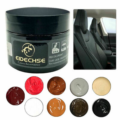Worn Car Seat Sofa Leather Repair Cream Color Paste Dye Colour Restorer Renew US