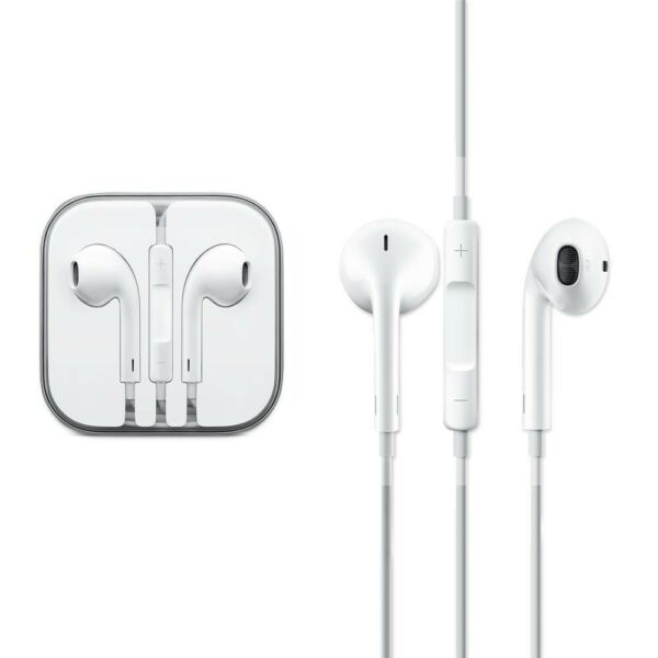 CUFFIE IPHONE ORIGINALI EARPODS AURICOLARI IPHONE 4 5 6 S Plus MD827ZM/A