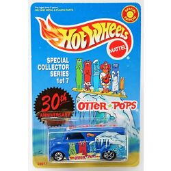 Hot Wheels Dairy Delivery Truck Otter Pops #28011 New NRFP 1999 Blue 1:64