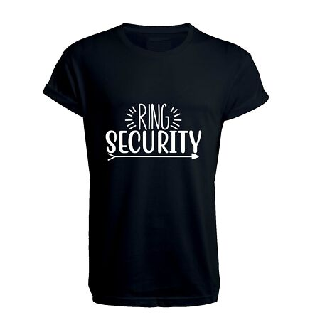 img-Ring Security 1 - Unisex T Shirt, Wedding, Gift, Hen, Stag