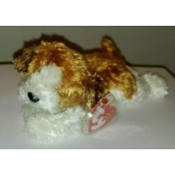 Ty Beanie Baby - SAMPSON the Puppy Dog (7.5 Inch) MINT with MINT TAGS -Very Soft