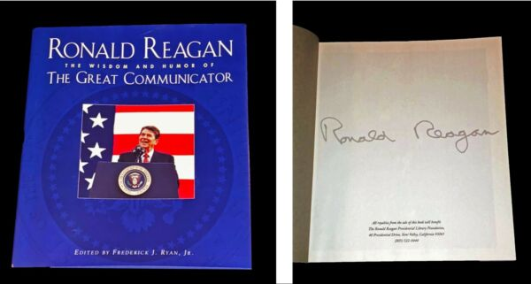 President Ronald Reagan The Great Communicator Libro Nuovo