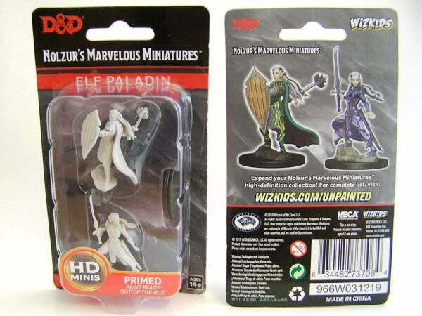 GroßbritannienDungeons & Dragons Nolzur's  Unpainted Miniatures (W9) - Female Elf ...