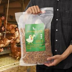 Kyпить Non-GMO Dried Mealworms Fit Birds Chickens Fish Reptile Turtles 11 5 2 lbs USA на еВаy.соm