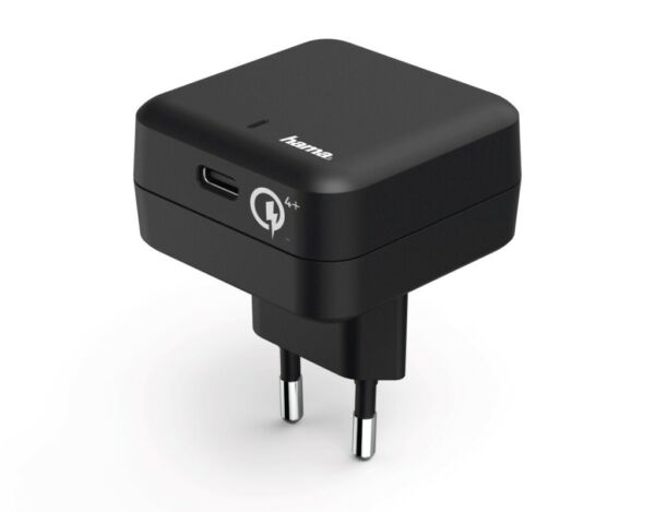 Hama Ladegerät USB-C Qualcomm Quick Charge 4+ Power Delivery PD Netzteil Lader
