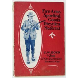 T W BOYD & SON Firearms Sporting Goods Bicycles Antique Catalog 1906