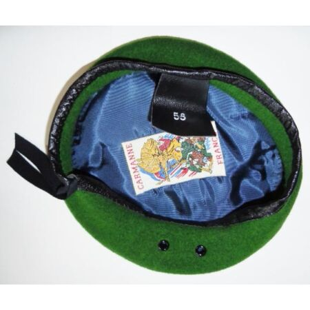 img-Beret Green Legion Foreign Size 55 Original Manufacturing French Foreign Ffl