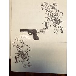 Exploded View Of Government Model MK IV Series 80 Model (O) Frame Snd Series 70