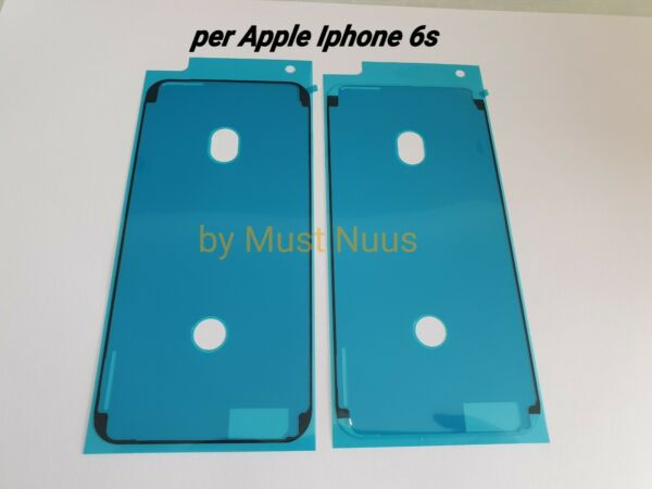 GUARNIZIONE ANTI INFILTRAZIONE BIADESIVO FISSAGGIO LCD DISPLAY APPLE IPHONE 6S