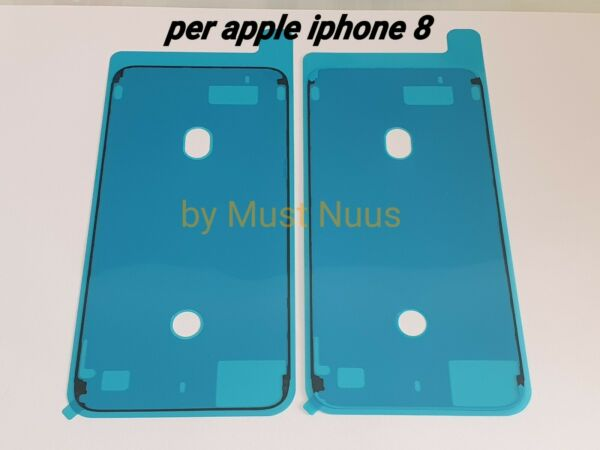 GUARNIZIONE ANTI INFILTRAZIONE BIADESIVO FISSAGGIO LCD DISPLAY APPLE IPHONE 8