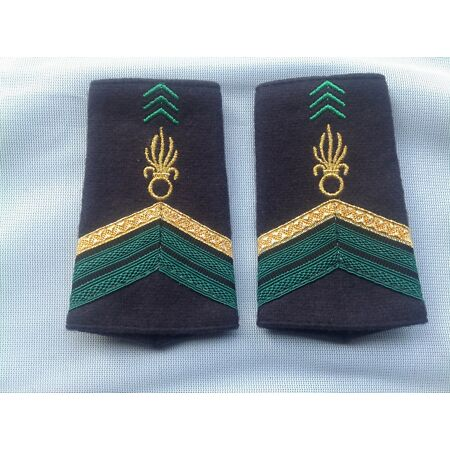 img-Abzeichen,Uniform,Armee, Fremdenlegion, Caporal-Chef, French Foreign Legion