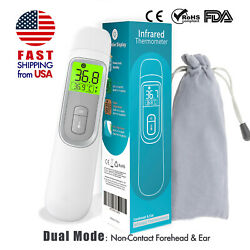 Kyпить FDA Non Contact Infrared Forehead Thermometer MEDICAL Screening Baby Adult GRAY на еВаy.соm