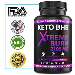 Kyпить 2100MG Keto Diet Pills Advanced Weight Loss that WORKS Burn Fat Carb Blocker BHB на еВаy.соm