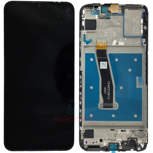 DISPLAY LCD HUAWEI P SMART 2019 Schermo TOUCH Screen FRAME ORIGINALE POT-LX1 LX2