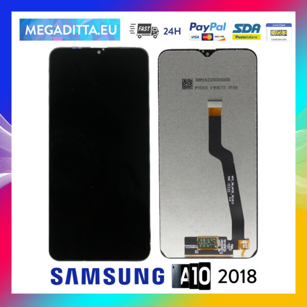 Display per Samsung Galaxy A10 2018 Schermo LCD Touch ORIGINALE SM A105 f fn ds