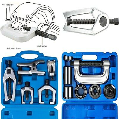 Ball Joint Separator Bundle + Ball Joint Press-U Joint Removal Tool Kit, Ford-GM