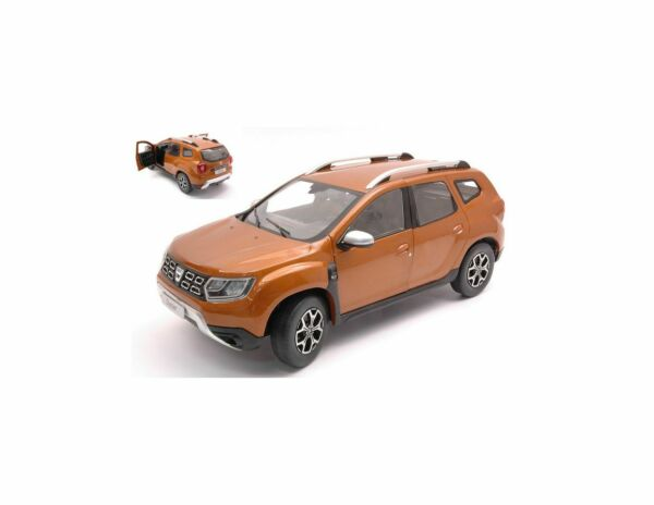 SOLIDO SL1804601 DACIA DUSTER MK2 2018 ORANGE ATACAMA 1:18 Modellino