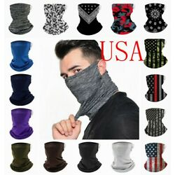 Kyпить Face Mask Neck Gaiter Bandana Cover Scarf Balaclava Reusable Washable Breathable на еВаy.соm