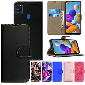 Case For Samsung Galaxy A10 A11 A21S A41 A51 A71 Flip Leather Wallet Phone Cover