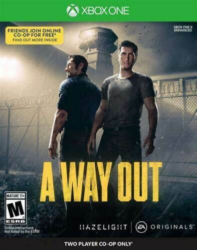 ItalieA Way Out Xbox One  Download NO CD/KEY/CODE