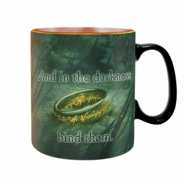 Royaume-UniLord of the Rings Sauron Chaleur Changer Tasse - Cadeau Emballé Stockage