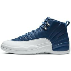 Kyпить Air Jordan 12 Indigo Retro Stone Blue White Obsidian 130690-404 на еВаy.соm